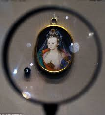 royal treasures big and small tiny portrait of mystery 17th