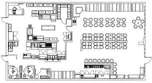 kitchen restaurant floor plan restaurant layout and design