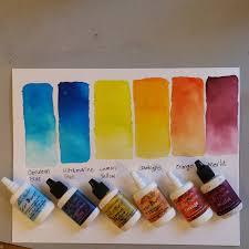 Shades Of Yellow Paint by Ken U0027s World In Progress