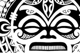 polynesian tribal mask tattoo designs masks for acne
