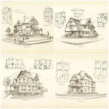47 old house floor plans houses victorian vintage historic st hahnow