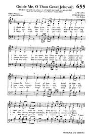 lord guide me great english and american hymns sheet music
