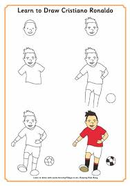 learn to draw ronaldo