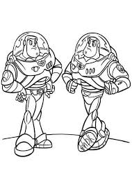 toy story buzz coloring pages getcoloringpages