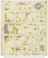 Houston Maps Sanborn Maps Of Texas Perry Castañeda Map Collection Ut