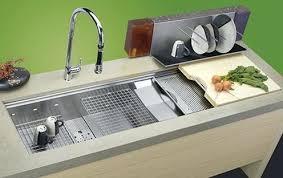 Narrow Sinks Kitchen Innovative Small Kitchen Sinks Stainless Steel Sink Ideas