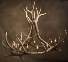 antler chandeliers and lighting company l deer horn chandelier with authentic look for your lighting