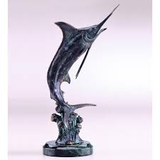 spi home collection hunting marlin sculpture u2013 artsihome