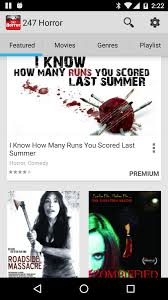 247 horror movies u0026 tv android apps on google play