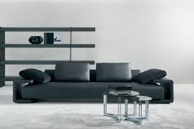 Leather Sofa Decorating Ideas Furniture Modern Leather Sofa For Living Room Furniture