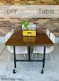 diy plumbing pipe table tutorial