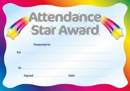 certificate of attendance templates certificate templatessample