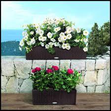 cottage weave deck rail planter box