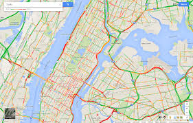traffic map manhattan traffic map montana map