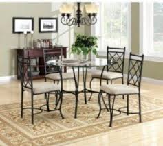 Glass Bistro Table Glass Top Bistro Table Set Foter