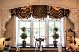 kitchen accessories elegant kitchen curtain custom window treatments projects linly designs