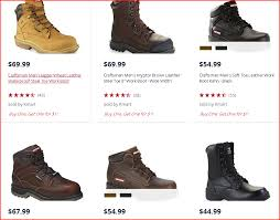 kmart s boots on sale kmart through sat 4 15 17 work boots as low as 10 99 or 15 49 wyb 2