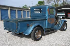Vintage Ford Pickup Truck - parked 46 years 1934 ford truck rod