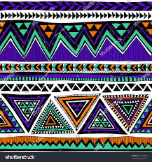 Tribal Print Wallpaper by Neon Color Tribal Navajo Vector Seamless Stock Vector 372162658