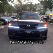 What Are Drl Lights Blinglights 2003 2004 Infiniti M45 Led Drl Light Strips Headlamps