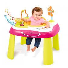 table d eveil avec siege smoby table d activités baby 211067 code 3032162110676
