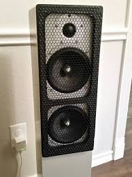 cool looking speakers diy speaker grill avs forum home theater discussions and reviews