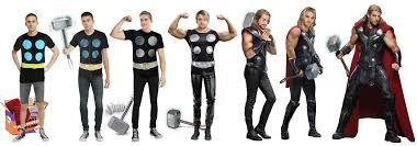 Kane Halloween Costume Instant Halloween Costume Feelin U0027 Mighty Thor Criskane