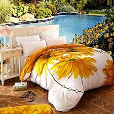 Sunflower Bed Set Gold Sunflower Bedding Sets 7 Pieces 1pc Duvet Cover