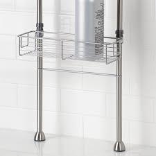 interdesign forma bathroom floor standing shower caddy station for