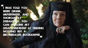 wedding quotes of thrones of thrones 6 badass quotes by olenna tyrell