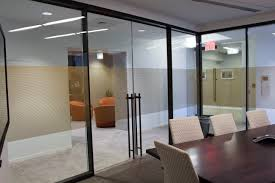 interior double sliding doors refine double glazed walls with frameless double sliding door done