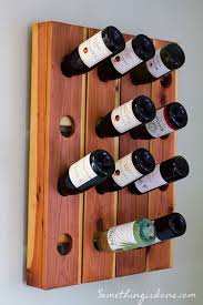 wine bottle holder diy 25 models easy to build startlr tech blog