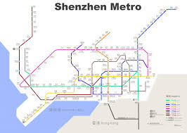 Dubai Metro Map by Shenzhen Metro Map