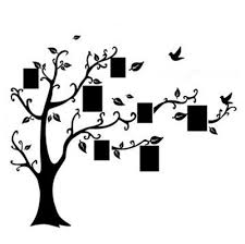 compare prices on black tree wall stickers online shopping buy diy photo frame tree flower art mural wall sticker decal decor kids black 50 70