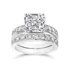 Cubic Zirconia Wedding Rings by Cubic Zirconia Wedding Ring Sets From Birkat Elyon