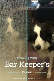 how do i clean soap scum from glass shower doors bar keepers friend will remove hard water stains from glass shower