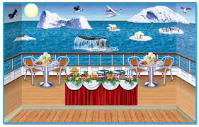 carnival ship themes arctic cruise ship insta theme backdrops props partycheap