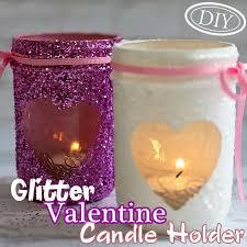 Valentine Bathroom Decor Diy Glitter Valentine Candle Holder U2013 Top Easy Interior Design For