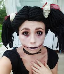 Creepy Doll Costume 15 Scary Doll Halloween Make Up Looks Ideas U0026 Trends 2014 For