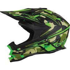 camo motocross gear oneal 7 series evo camo green motocross helmet mx off road enduro
