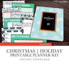 christmas printables printable christmas planner