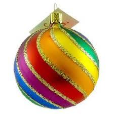 rainbow pride rainbow ornaments