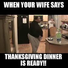 thanksgiving dinner is ready lol