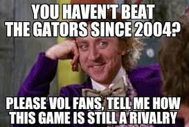 Tennessee Vols Memes - gator bites week 4 florida gators vs tennessee volunteers