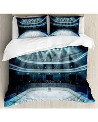 Hockey Bedding Set Amazing Deal On Hockey King Size Duvet Cover Set Photo Of A