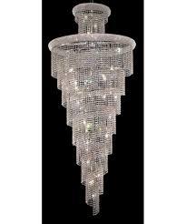 Elegant Lighting Chandelier Elegant Lighting 1800sr36 Spiral 36 Inch Wide 32 Light Large