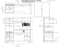Standard Measurement Of House Plan by Best 10 Desk Dimensions Ideas On Pinterest Office Table Design