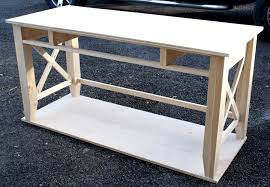 Free Wood Table Plans by Diy Writing Desk