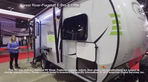 forest river flagstaff e pro e17rk youtube