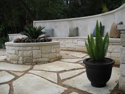 white flagstone patio constructed by ol u0027 yeller landscaping